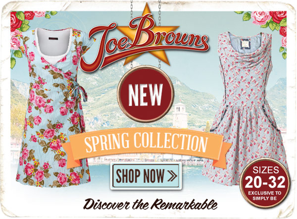 Joe Browns NEW Spring collection